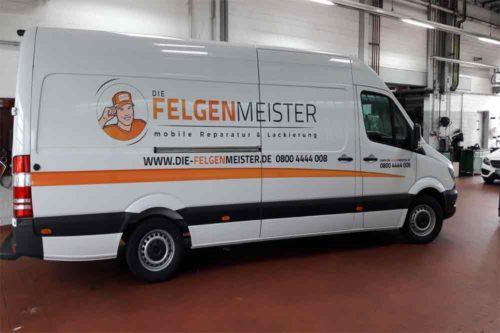 Felgenmeister-Fahrzeugbeschriftung