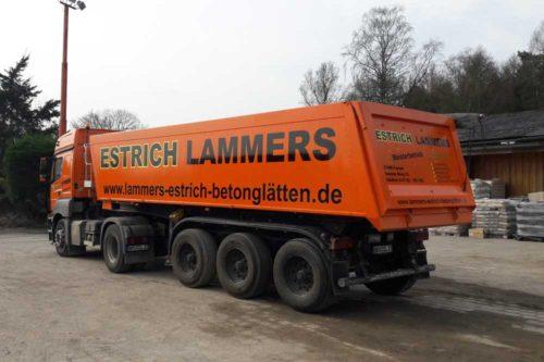 Lammers-LKW-Beschriftung