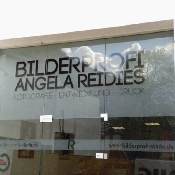 Angela Reidies Bilderprofi Stade Schaufenster im Glasdekor