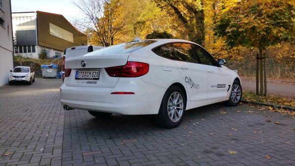 Citymap Fahrzeugbeschriftung Firmenfahrzeug Dezent aber schön
