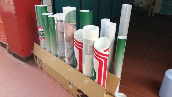 Digitaldruckaufkleber in allen Formen und Größen
