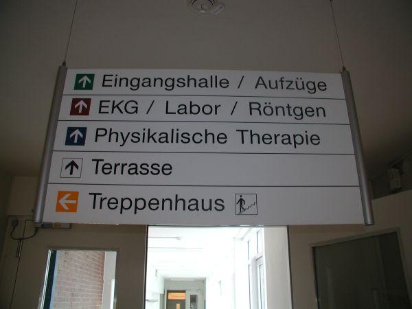 Wergweiser Elbe Klinikum Stade