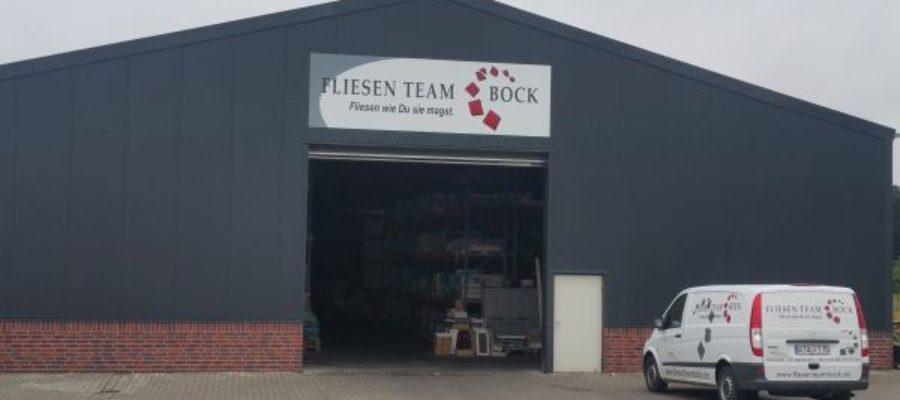 Fliesen Team Bock Firmenschild