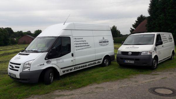 Jan Scherer Fahrzeuge beschriftung in Schwarz Dezent