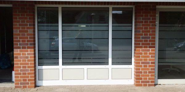 Schaufenster Glasdekor