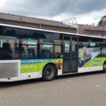 Spielpark Wingst Sommerrodelbahn Buswerbung