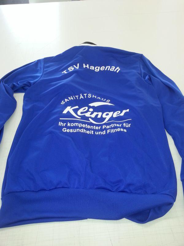 Sweatshirt beschriftung TSV Hagenah