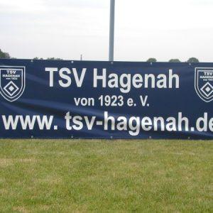 Werbebande TSV Hagenah