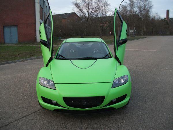 Vollfolierung Mazda RX8